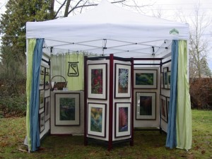 How to get an un fair advantage steve sipress business for Display tents for craft fairs