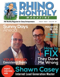 Rhino Monthly Magazine - Shawn Casey & Steve Sipress