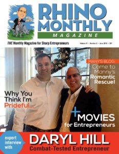 Daryl Hill & Steve Sipress - Rhino Monthly Magazine June 2016