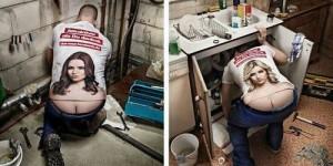 plumber humor crack
