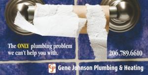 plumbing ad toilet paper