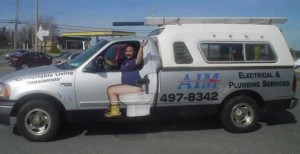 plumbing truck toilet