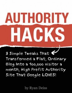 Ryan Deiss Authority Hacks