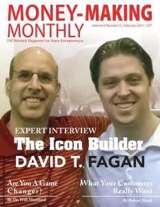 Money-Making Monthly - February 2015 - Steve Sipress & David Fagan