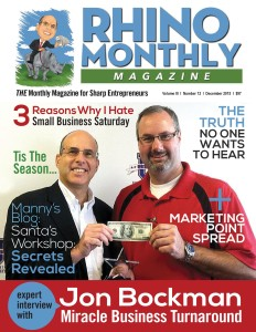 Rhino Monthly Magazine - Jon Bockman & Steve Sipress